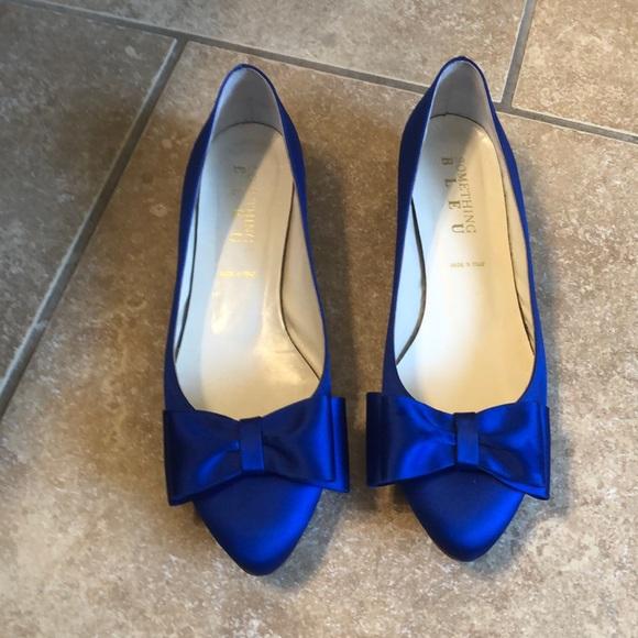 Royal Blue Something Blue Shoe Size